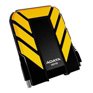 DISCO DURO EXTERNO ADATA 2TB HD710 USB 3.0 AntiShock WaterResist AMARILLO